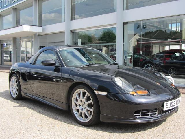 Used Porsche Boxster 2002 Black Convertible Petrol Automatic for Sale