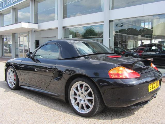 Used Porsche Boxster 3.2 S 2 Door Tiptronic Convertible Black 2002 Petrol for Sale in UK