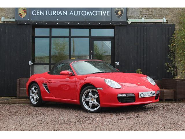 Used Porsche Boxster 2008 Red Convertible Petrol Manual for Sale