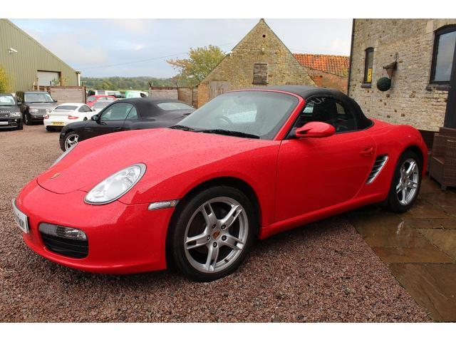 Used Porsche Boxster 2.7 [245] 2 Door Convertible Red 2008 Petrol for Sale in UK