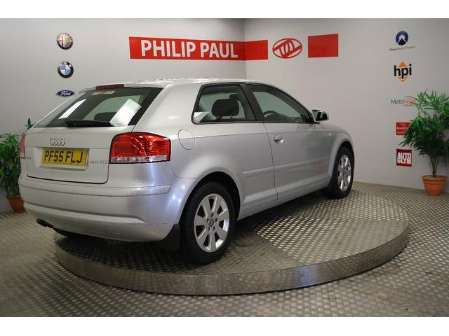 Used Audi A3 2.0 Tdi Se 3 Door Hatchback Silver 2006 Diesel for Sale in UK