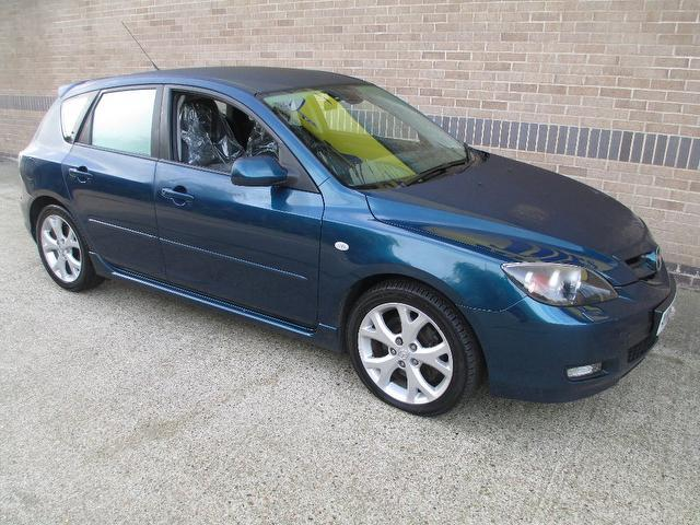 used mazda mazda3 2007 blue colour diesel sport 5 door hatchback for sale in norwich uk. Black Bedroom Furniture Sets. Home Design Ideas
