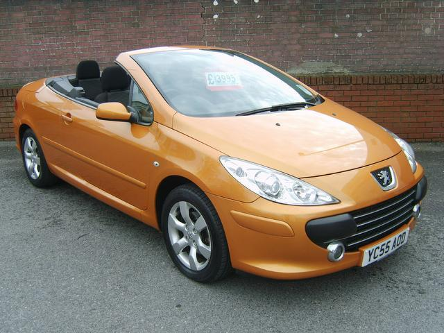 used peugeot 307 convertible for sale uk autopazar. Black Bedroom Furniture Sets. Home Design Ideas