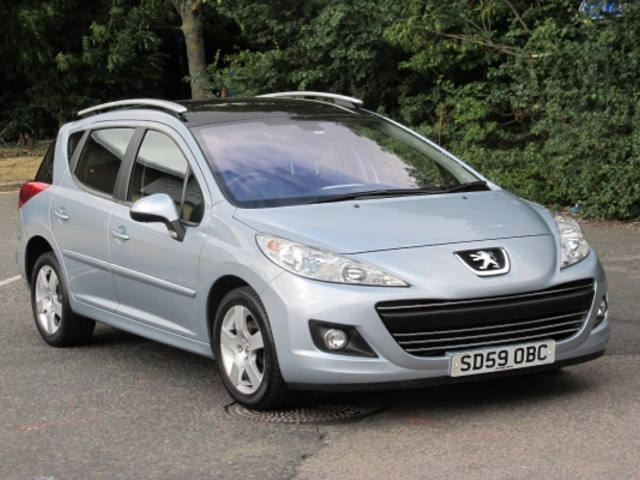 Used Peugeot 207 2009 Blue  Petrol Automatic for Sale