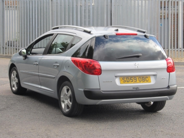 Used Peugeot 207 Sw  Blue 2009 Petrol for Sale in UK