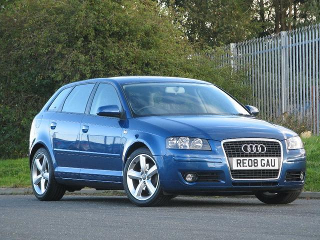 used audi a3 2008 blue paint diesel 2 0 tdi sport 5dr hatchback for sale in turrif uk autopazar. Black Bedroom Furniture Sets. Home Design Ideas