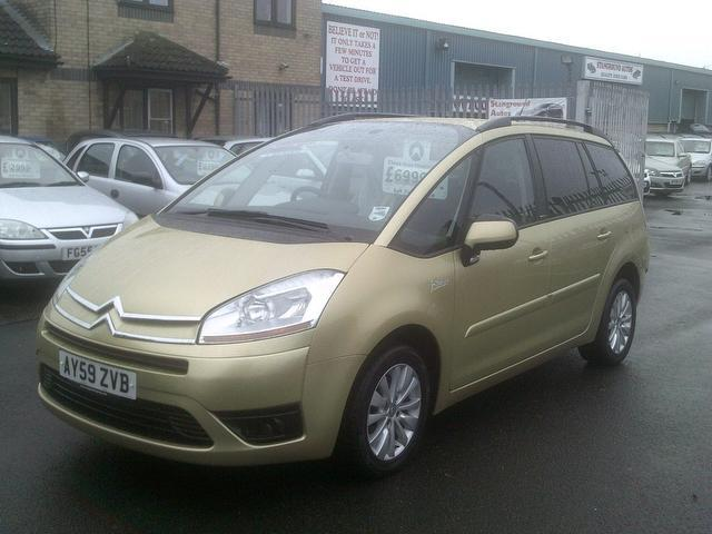used 2009 citroen c4 estate beige edition grand picasso 1. Black Bedroom Furniture Sets. Home Design Ideas