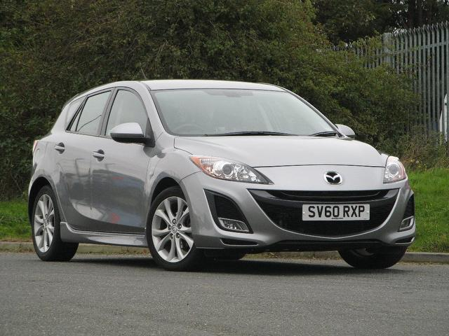 used mazda mazda3 2010 manual petrol 1 6 takuya 5 door low silver for sale uk autopazar. Black Bedroom Furniture Sets. Home Design Ideas