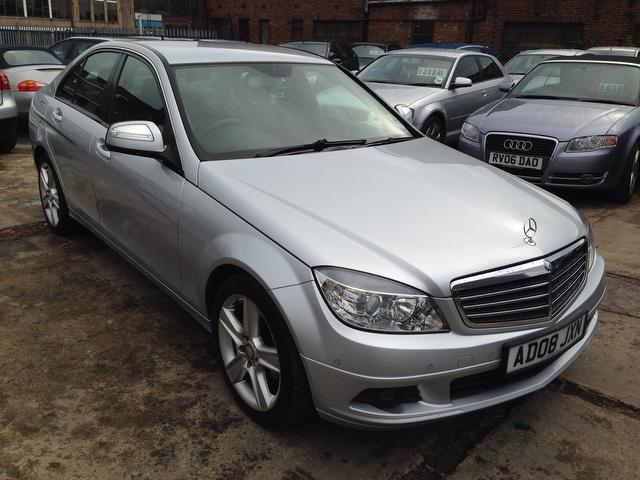 Used mercedes benz 2008 diesel class c200 cdi se saloon for Mercedes benz uk used
