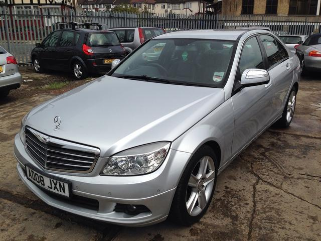 used mercedes benz 2008 diesel class c200 cdi se saloon silver edition for sale in wembley uk. Black Bedroom Furniture Sets. Home Design Ideas