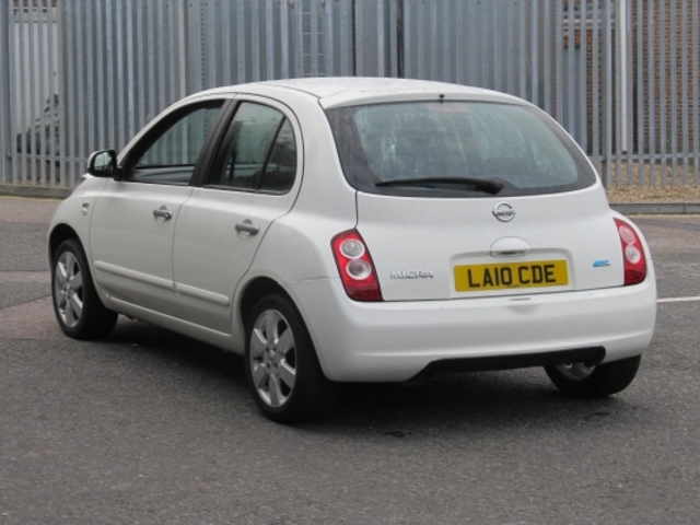 Used Nissan Micra  White 2010 Petrol for Sale in UK