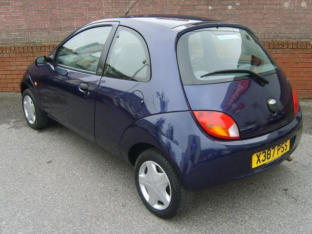 Used Ford Ka 2000 Petrol 1 3i 2 3dr Low Hatchback Blue