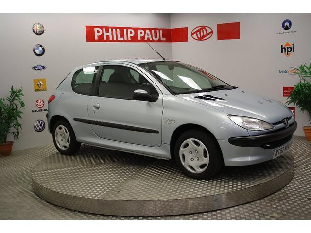 Used Peugeot 206 2002 Silver Hatchback Petrol Manual for Sale