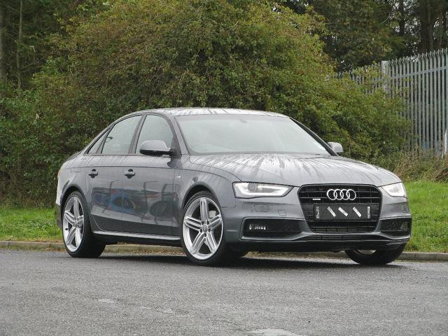 Used Audi A4 2.0 Tdi 177 Quattro Saloon Grey 2012 Diesel for Sale in UK