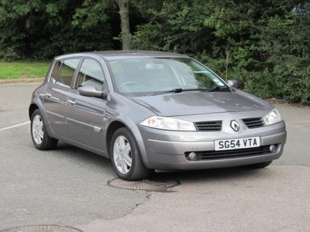 Used Renault Megane 2004 Grey  Petrol Manual for Sale