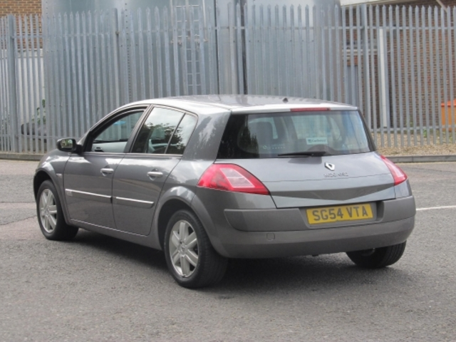 Used Renault Megane  Grey 2004 Petrol for Sale in UK