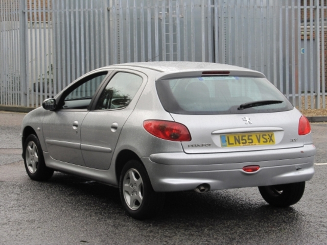 Used Peugeot 206  Silver 2005 Unleaded for Sale in UK