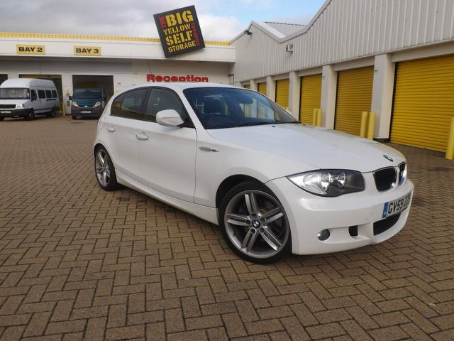 used 2010 bmw 1 series hatchback 123d m sport diesel for. Black Bedroom Furniture Sets. Home Design Ideas