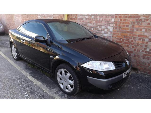 Used Renault Megane 2006 Black Convertible Diesel Manual for Sale