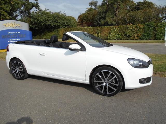 Used Volkswagen Golf 2012 White Convertible Petrol Manual for Sale