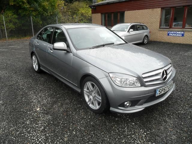 Used 2007 mercedes benz saloon silver edition class c220 for Mercedes benz uk used