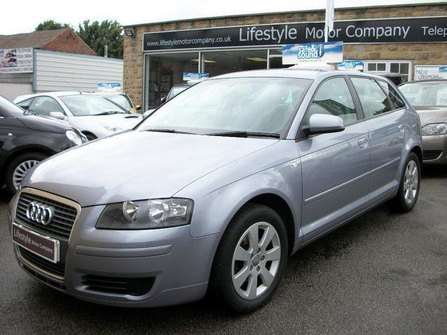 used audi a3 2006 diesel 1 9 tdi se 5dr hatchback silver. Black Bedroom Furniture Sets. Home Design Ideas