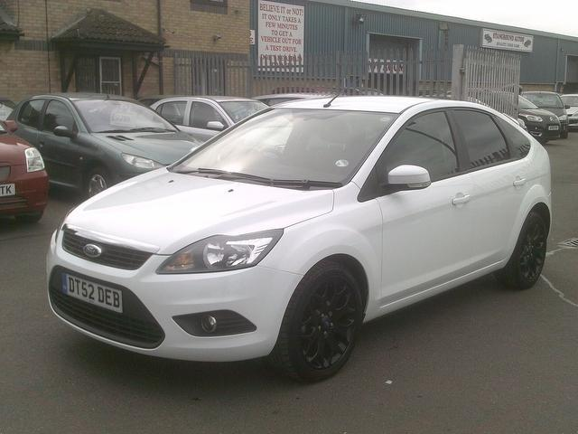 Ford Focus 2011 White