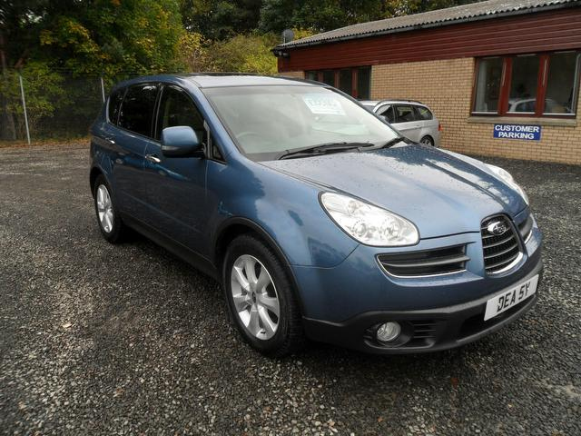 Used subaru tribeca car 2008 blue petrol 3 0 se5 5 door for Tribeca property for sale