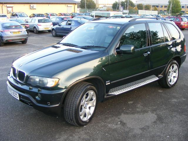 Used Bmw X5 3.0i Sport 5 Door Electric 4x4 Green 2003 Petrol for Sale in UK