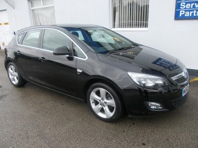 Used Cars For Sale Wirral >> Used Vauxhall Astra 2010 Black Colour Petrol 1.4t 16v Sri [140] Hatchback For Sale In Wirral Uk ...