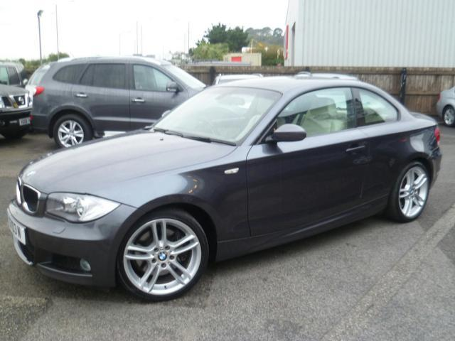 Used Bmw 1 Series 2008 Grey Colour Diesel 123d M Sport Coupe For ...