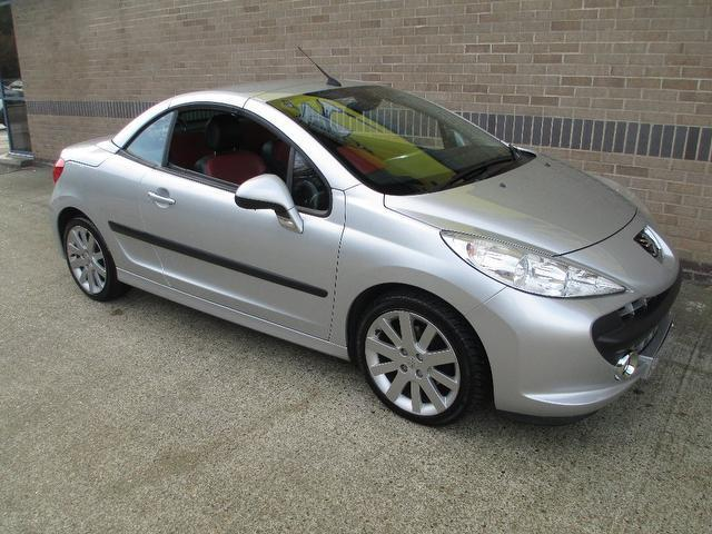 Used Peugeot 207 2007 Silver Convertible Petrol Manual for Sale