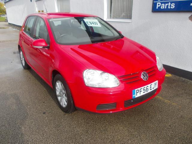 Used Cars For Sale Wirral >> Used Volkswagen Golf 2007 Red Colour Petrol 1.6 Match Fsi 5 Door Hatchback For Sale In Wirral Uk ...