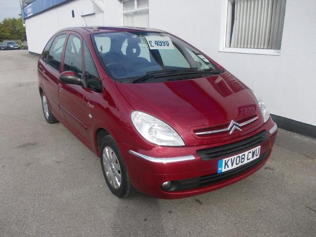 used citroen xsara 2008 diesel picasso 1 6 hdi 92 estate. Black Bedroom Furniture Sets. Home Design Ideas