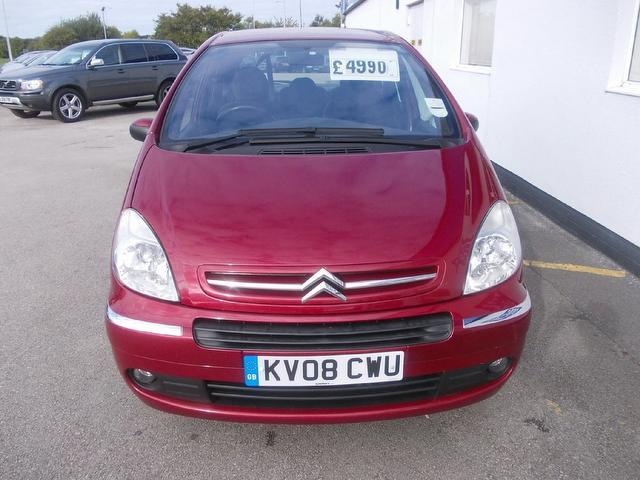 used citroen xsara 2008 diesel picasso 1 6 hdi 92 estate red edition for sale in wirral uk. Black Bedroom Furniture Sets. Home Design Ideas