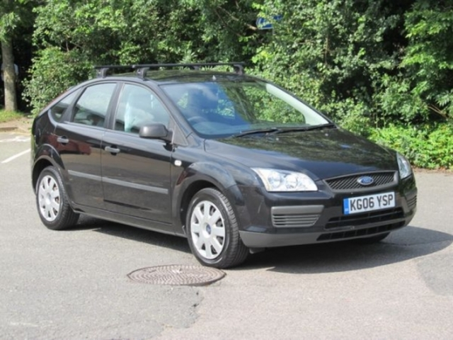 Used ford focus 2006 unleaded black manual for sale in for Ford focus 2006 interieur