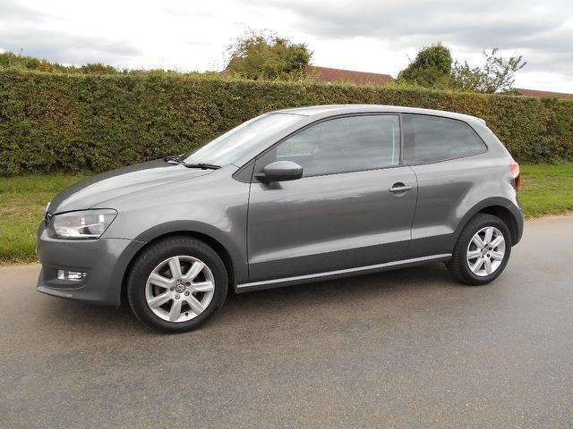 Used Volkswagen Polo 1.4 Match 3 Door Dsg Hatchback Grey 2011 Petrol for Sale in UK