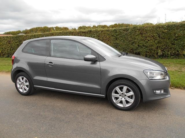 Used Grey Volkswagen Polo 2011 Petrol 1.4 Match 3dr Dsg Hatchback In ...