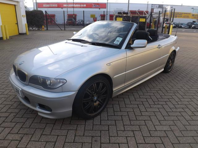 Used Bmw 3 Series Car 2006 Silver Petrol 318 Ci M Convertible For