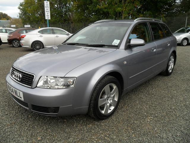 Used Audi A4 1.9 Tdi 130 Se Estate Silver 2004 Diesel for Sale in UK