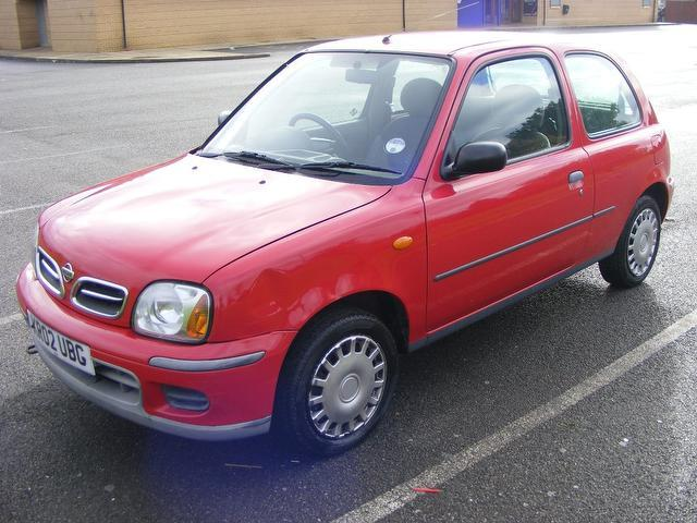 used nissan micra 2002 red hatchback petrol manual for sale sexy girl and car photos. Black Bedroom Furniture Sets. Home Design Ideas