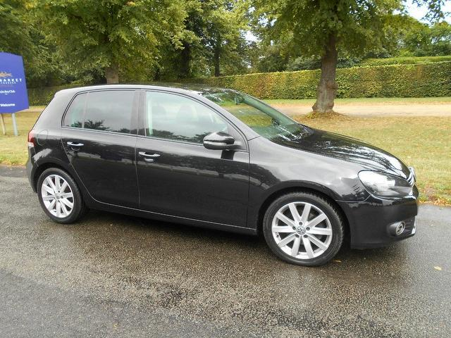 Used Volkswagen Golf 2009 Black Hatchback Diesel Manual for Sale