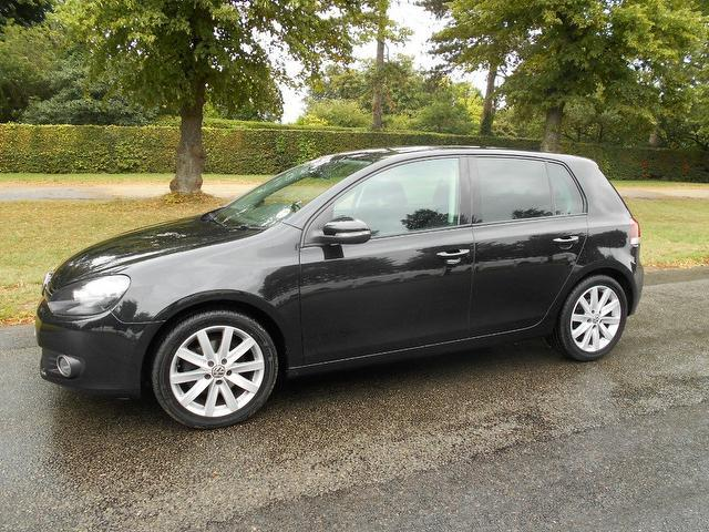 Used Volkswagen Golf 2.0 Tdi 140 Gt Hatchback Black 2009 Diesel for Sale in UK