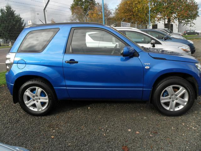 used suzuki grand 2006 petrol vitara 1 6 vvt 4x4 blue with radio cd player for sale autopazar. Black Bedroom Furniture Sets. Home Design Ideas