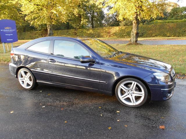 Used Mercedes Benz 2008 Blue Coupe Petrol Automatic for Sale