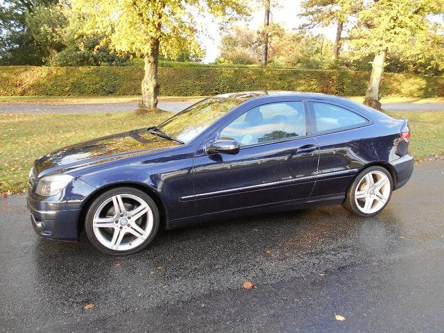 Used Mercedes Benz Class 180k Sport 3 Door Coupe Blue 2008 Petrol for Sale in UK