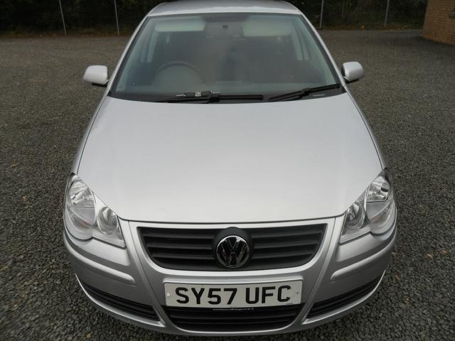 Used Volkswagen Polo 1.4 Se 80 5 Door Hatchback Silver 2007 Petrol for Sale in UK