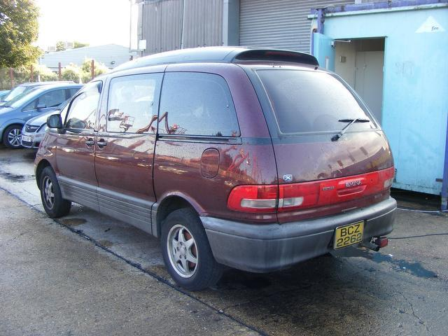 Used Toyota Estima Diesel 4dr New Battery People Carrier
