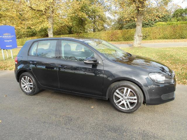 Used Volkswagen Golf 2010 Black Hatchback Diesel Manual for Sale