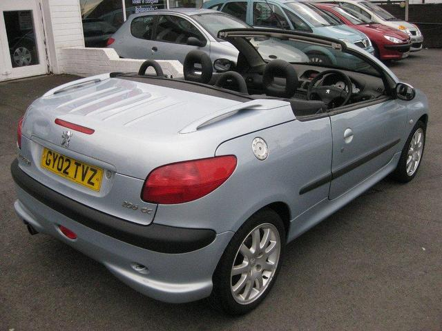 Used Peugeot 206 2002 Petrol 2 0 Se 2dr Convertible Silver